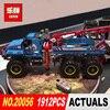 Lepin 20056 1912Pcs Technic Series The Ultimate All Terrain Remote Control Truck Set Building Blocks Bricks Toys Model 42070