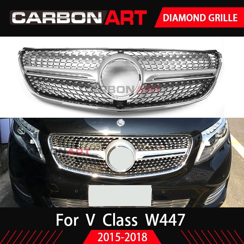 Mercedes V-Klasse V447 W447 Vito Einstiegsleisten SET 3D CARBON SCHWARZ von CCW©