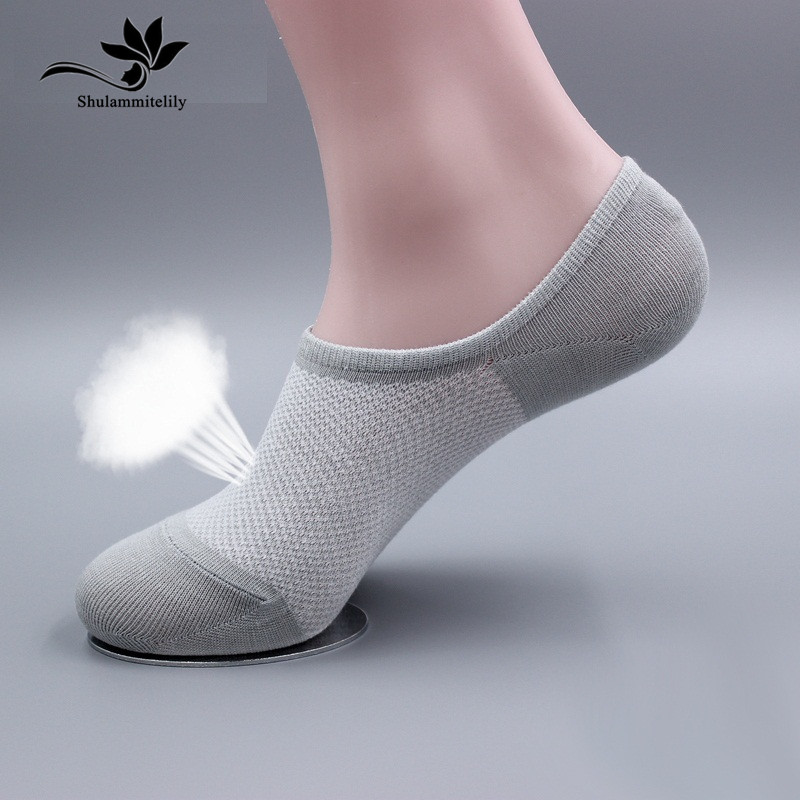 Free Shipping 14pcs=7pairs/lot Bamboo fiber Womens candy colors invisible   Socks  , anti- slip, net,boat,cheap and good qualtiy