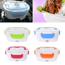 Free delivery Electric food heating lunch box Car Lunch box Bento Box Portable Dinner box 12V