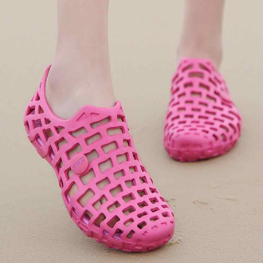2018 Beach Sandals Men Women Unisex Anti-Skidding Classic Shoes Couple Beach Sandal Shoes zapatos de mujer 0731