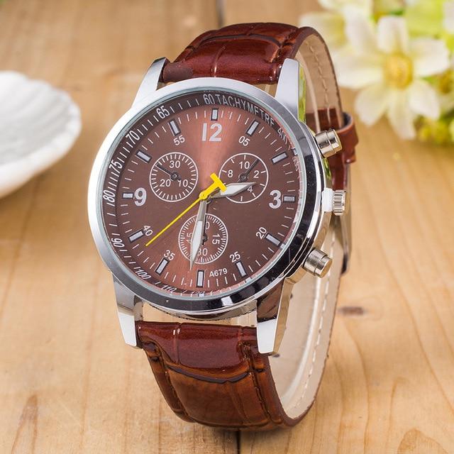 Analog Stainless Steel Business Quartz Watch 1
