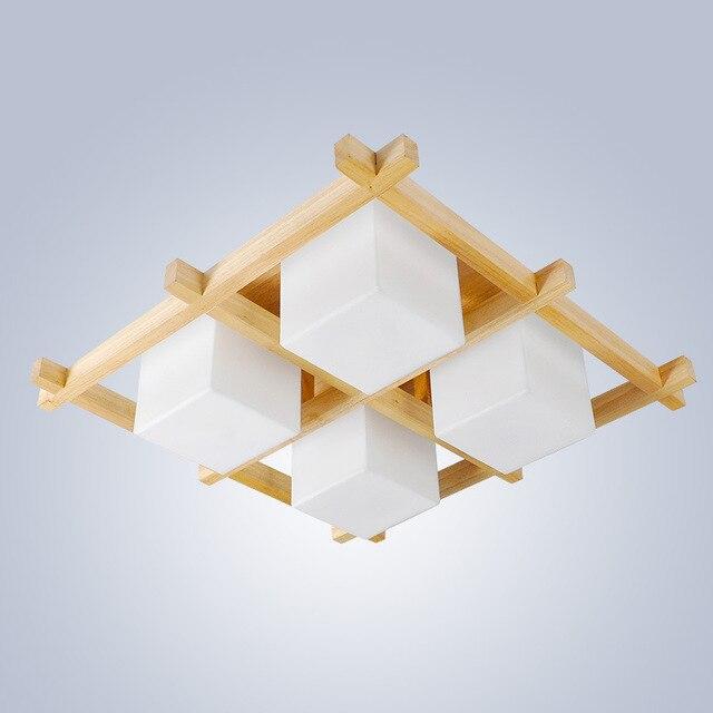 SinFull Moderne Japonais plafonnier Chambre Led Plafond Lampe salon Restaurant Bois led luminaires Minimalistes.jpg 640x640 Résultat Supérieur 15 Incroyable Plafonnier Bois Led Galerie 2017 Pkt6