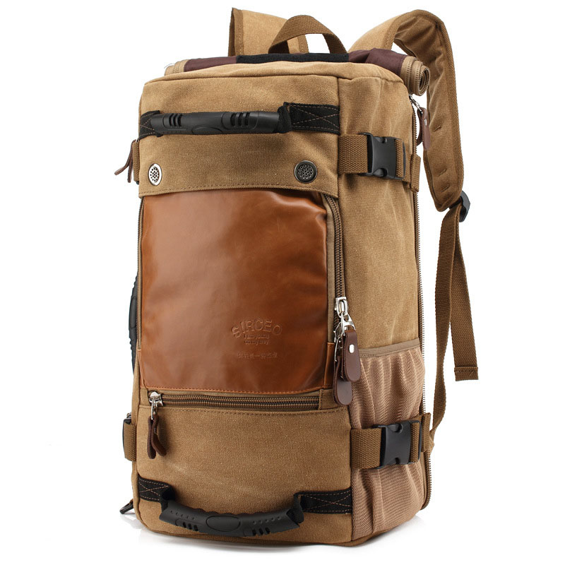 New Stylish Travel Large Capacity Backpack Male Luggage Shoulder Bag Computer Backpacking Men Functional Versatile Bags