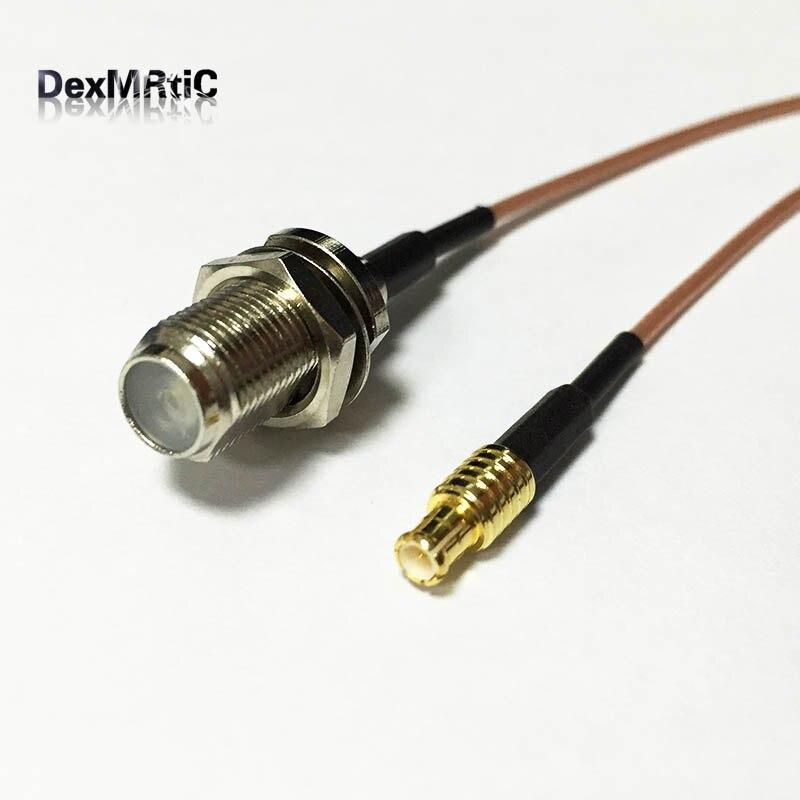 Adaptador de antena WIFI MCX, interruptor recto macho, conector tipo F hembra, cable pigtail RG178 15cm, venta al por mayor Antena Yagi 4G 28dbi, antena 4G LTE TS9 MCX N macho N Hembra TNOutdoor, potenciador direccional, módem amplificador RG58 1,5 m