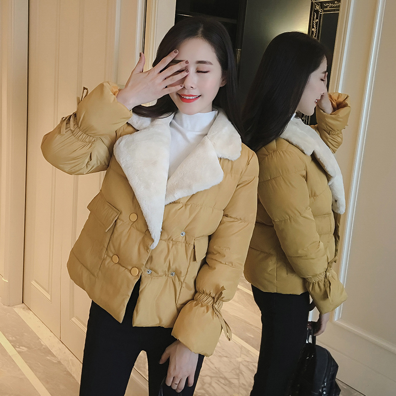 OLIVARF New 2017 Winter Coat Women Slim Plus Size Outwear Medium Wadded Jacket Thick Hooded Cotton Fleece Warm Cotton Parkas msfilia new winter coat warm slim women jackets cotton padded medium long thick hooded parkas casual wadded fleece outwear