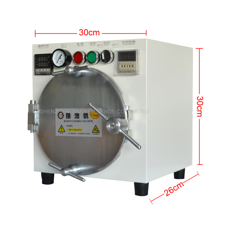 Mini Autoclave Bubble Remover OCA Adhesive Sticker Highquality LCD Air Bubble Remove Machine for Glass Refurbishment autoclave bubble remover oca adhesive sticker lcd air bubble remove machine air compressor glass refurbishment cellphone