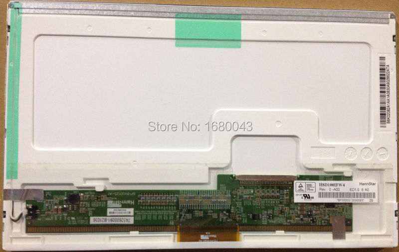 HSD100IFW4 A00 HSD100IFW1 30pin LCD LED Screen Panel for Asus Eee PC 1011CX 1000H 1005P 1005PE 1001 1001P 1005PE 1005PED 1025C