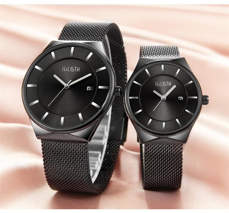 Ultra fina Relógios do Amante da Banda