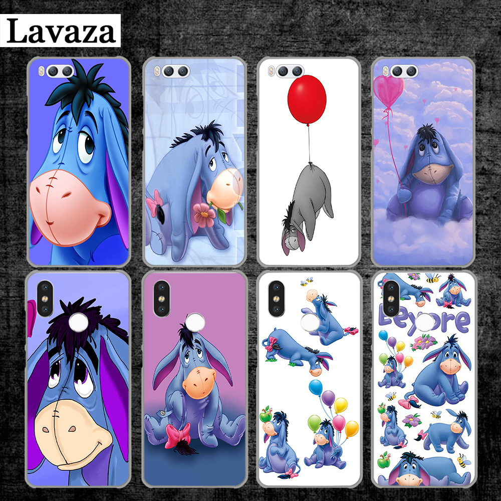 Lavaza Baby Eeyore Eeyore Donkey Hard Case for Xiaomi MI 5 5S 6 8 9 SE Lite F1 A1 A2 5X 6X Mix 2S MAX 3