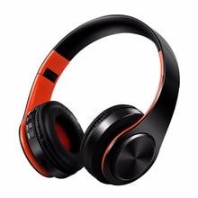Bluetooth Kablosuz Kulaklık Kask Katlanabilir oyun kulaklığı Stereo Hifi Cihazları Için Mic FM Kulaklık Ile cep telefonu Xiaomi ...