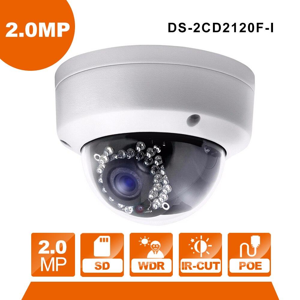 цена Hikvision Original DS-2CD2120F-I IP Camera  videcam surveillance cam alarm system for home for Russsion Friend онлайн в 2017 году