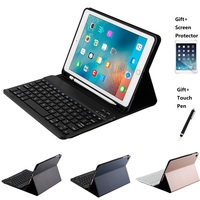Split Design Leather With Pencil Holder Bluetooth Keyboard Case For iPad Air 1 2 Pro 9.7 New iPad 2017 2018 9.7inch