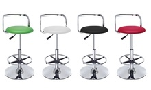Southeast Asia fashion bar chair Stainless steel backrest coffee stool free shipping