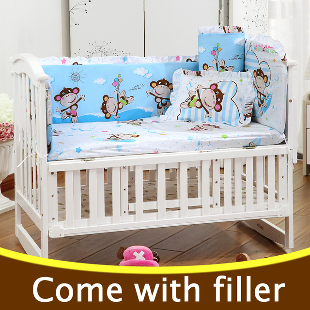 bedding new boy sets animals crib cot embroidery sheet boys embroidered little nappy baby wallhangs ocean skirt product set cribs for life bumpers sea comforter bag childrens