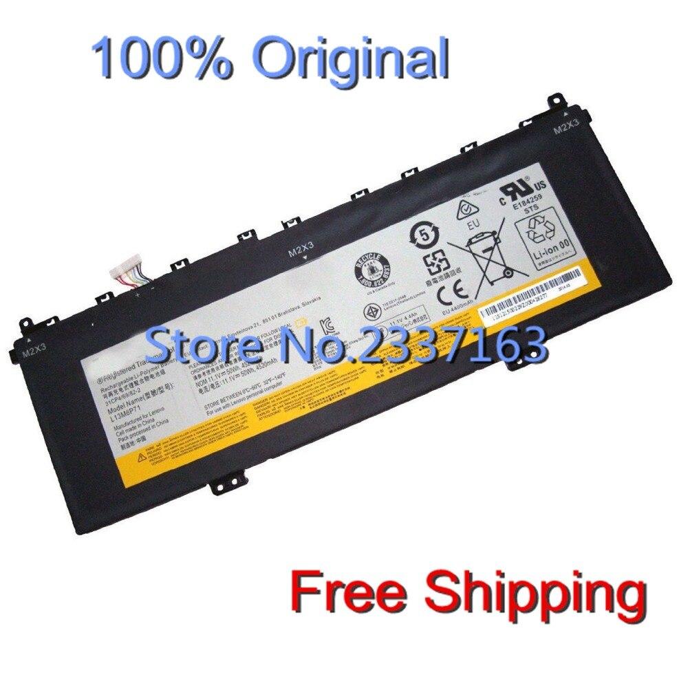 IECWANX 100% new Laptop Battery L13M6P71 (11.1V 50Wh 4520mAh ) for Lenovo Yoga 2 13 L13m6p71 L13s6p71 3icp4/69/81-2