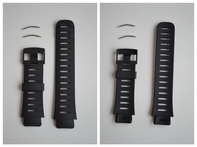 Replacement Rubber Wrist Band For Suunto X-Lander Military Watch Leather Watchband Watch Fabric Wristband Strap