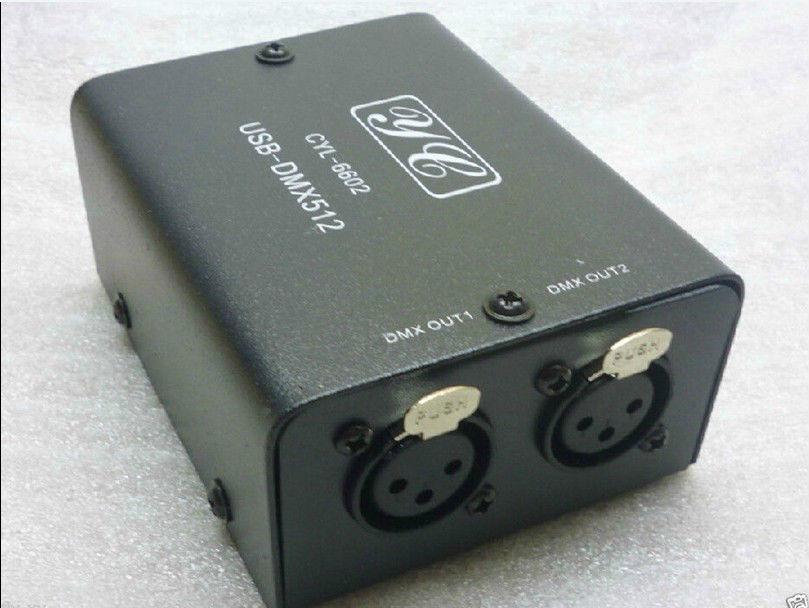 USB to DMX512 512 LED Light DMX-Stage Lighting Controller Converter Daslight