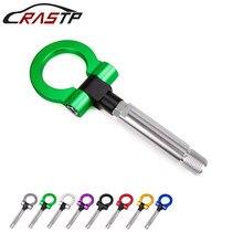 RASTP-новое поступление гоночный винт алюминиевый буксировочный крюк кольцо комплект для Toyota/Scion Lexus/Yaris старый RS-TH008-6