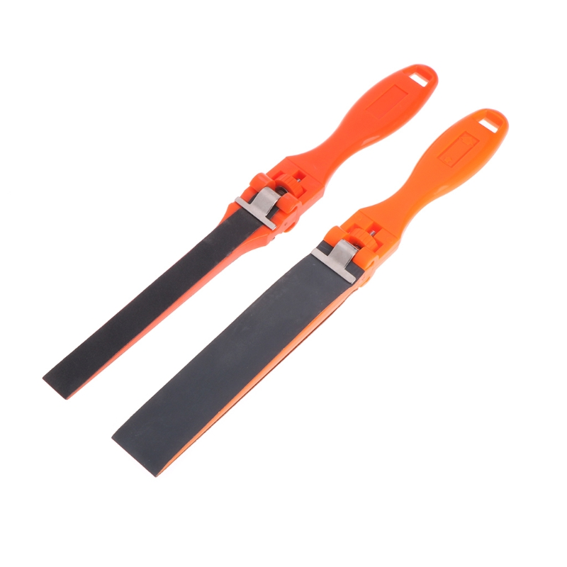 Sandpaper Ruler Plastic Jewelry Polishing Tools Abrasive Bar Grinding Stick Clip