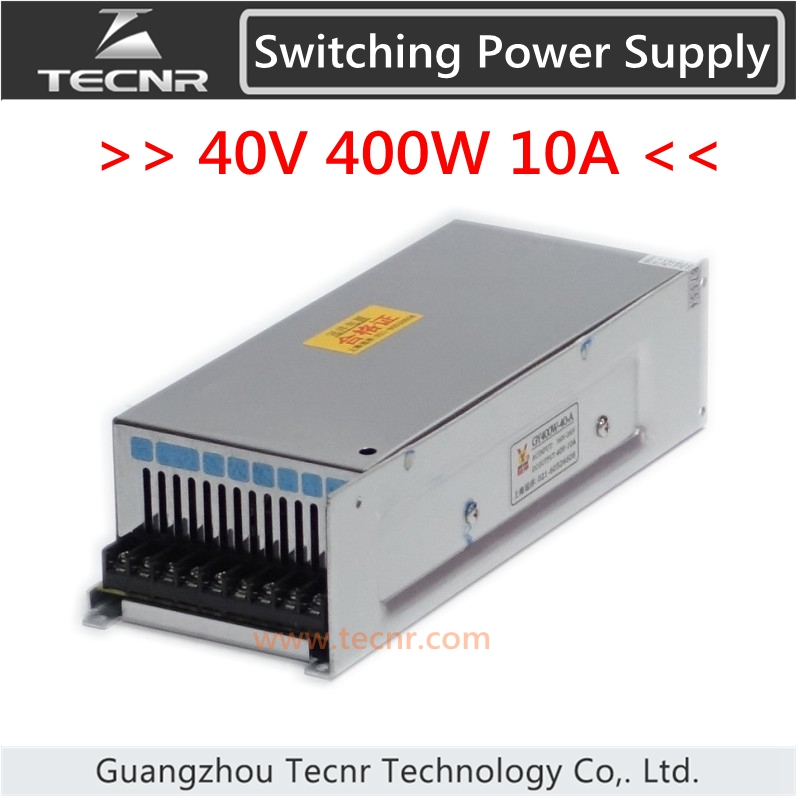 ФОТО 40V 10A 400W switch power supply for cnc engraving machine GY400W -40- A