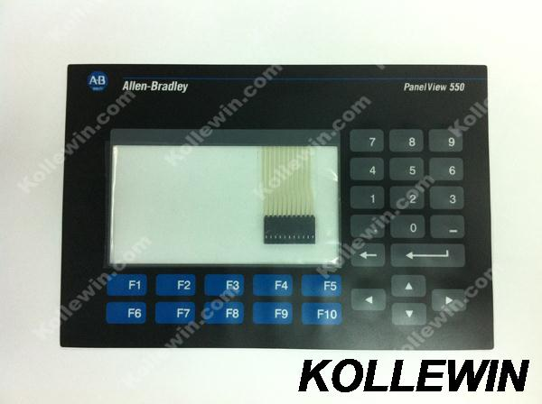 NEWKeypad for AB PanelView 550 2711-K5 2711-K5A1 2711-K5A2 2711-K5A3 2711-K5A5 2711-K5A8 2711-K5A9 2711-K5A10 2711-K5A freeship 2711 k5a9 touch screen membrane 2711 k5 keypad for allen bradley hmi 2711k5a9 fast shipping
