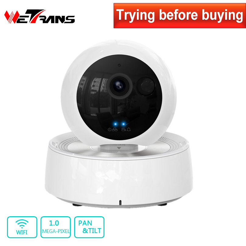 Pan Tilt Wifi IP Camera Robot 720P HD Onvif Plug Play 10m IR Night Vision P2P Baby Monitor Home Security Alarm System Wireless escam qf100 p2p ip camera 720p hd wifi wireless baby monitor pan tilt security camera onvif night vision support micro sd card