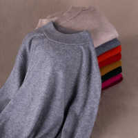 Super Warm Thick Winter Cashmere Soft Sweaters and Pullovers Women Sweater Mink hair Turtleneck Female Brand Pullover Jumper