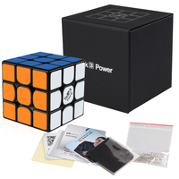 Qiyi Mongfangge Valk 3 Power M Magnetic 56mm Speed Cube 3x3x3 Professional WCA Game Magic Puzzle Cube Fidget Toys Gift