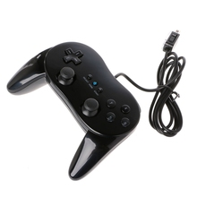 Classic Wired Game Controller Gaming Remote Pro Gamepad Control Joystick For Nintendo Wii