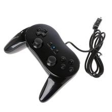 קלאסי Wired משחק בקר משחקים מרחוק פרו שליטת Gamepad ג ויסטיק עבור Nintendo Wii
