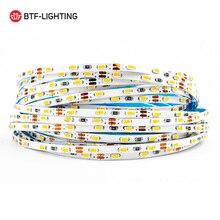 5M 3/5/8 มม.กว้าง 3014 90/120/168 LED/LED Strip DC12V Warm/ธรรมชาติ/CoolสีขาวSuper Brightแสงยืดหยุ่นไม่กันน้ำ