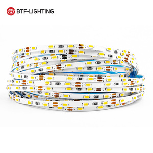 5m 3/5/8mm Width 3014 90/120/168 LED/meter LED Strip DC12V Warm/Natural/Cool White Super Bright Flexible Light Non-Waterproof