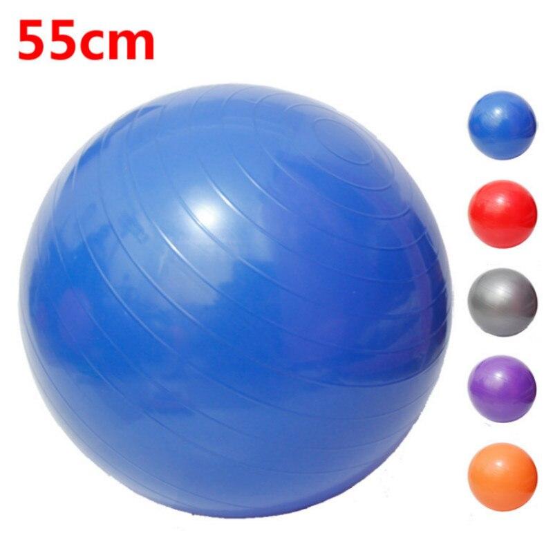 Balance Ball Blue: 55cm Blue Sport Pilates Yoga Fitness Ball Exercise Balls