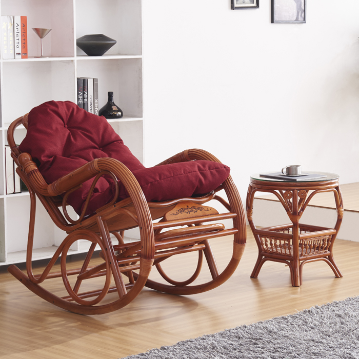 Really Cheap Couches: Cheap Indonesia Imported Rattan Really Rocking Chair