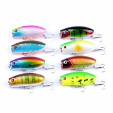 Minnow Fishing 6cm/10.4g The bionic plastic Hard Lure crank bait Artificial Outdoors Topwater Tackle topwater lure