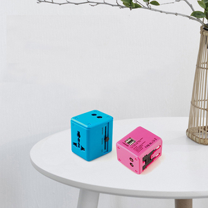 Image 5 - World Wide Universal Travel Adapter Support fast charge, compact and stylish Multi Plug Charger With Dual USB Ports US/EU/UK/AU