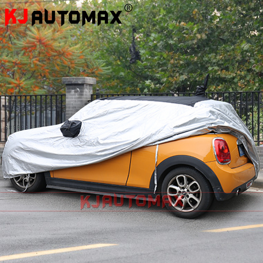 KJAUTOMAX Anti-fouling Thickening Insulation 4.1M  Anti-decking Car cover Sun protection  For Mini Cooper R55