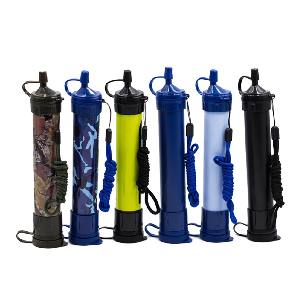 *Water Filter Purifier Outdoor Sport Camping Hiking Emergency Life Survival Portable Tool With 1000 Liters Filtration Capacity*