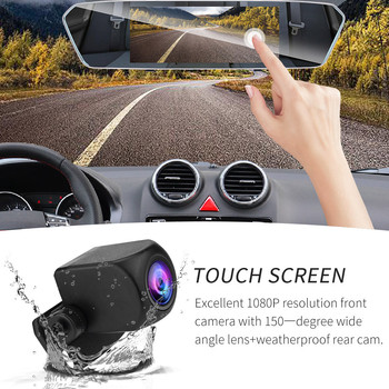 "7"" Mirror Dash Cam Screen 1080P Rearview Front Rear Dual Lens Reversing Camera HDR,G-sensor,cycle recording ,Motion detection,"
