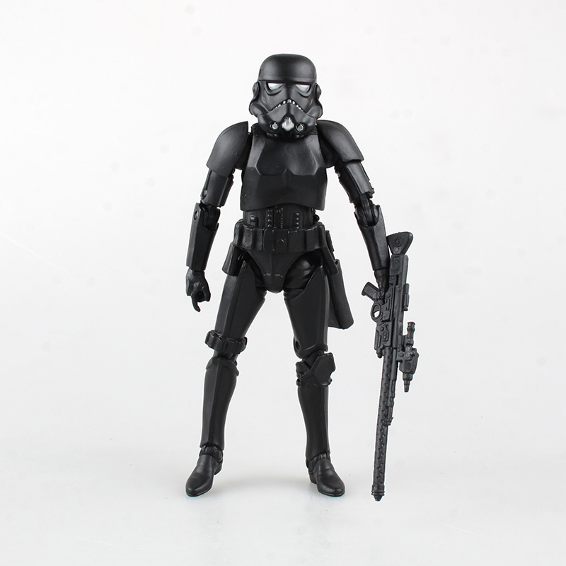 WVW 15.5cm Movie Star Yoda Darth Vader DV Storm Trooper Boba Fett Model PVC Toy Action Figure Decoration For Collection Gift star wars jedi knight master yoda pvc action figure collectible model toy doll gift 12cm kt2029
