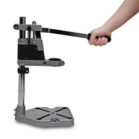 Durable And Portable Professional Tools Aluminum Alloy Bench Clamp Electric Drill Stand Bracket Z20