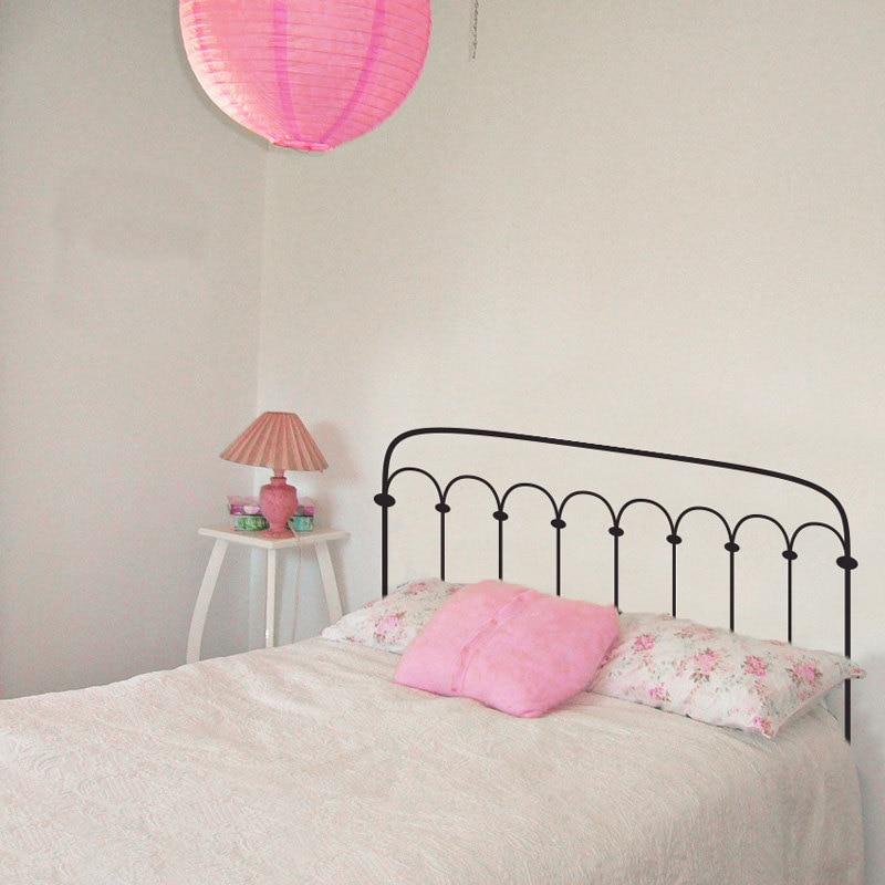 Pegatinas de pared de la cabecera compra lotes baratos for Calcomanias para dormitorios