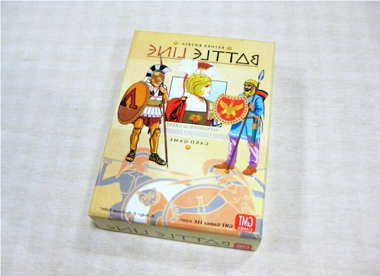 Battle Line English & Chinese version classic battle game playing board game cards Alexander vs Darius of Persia game