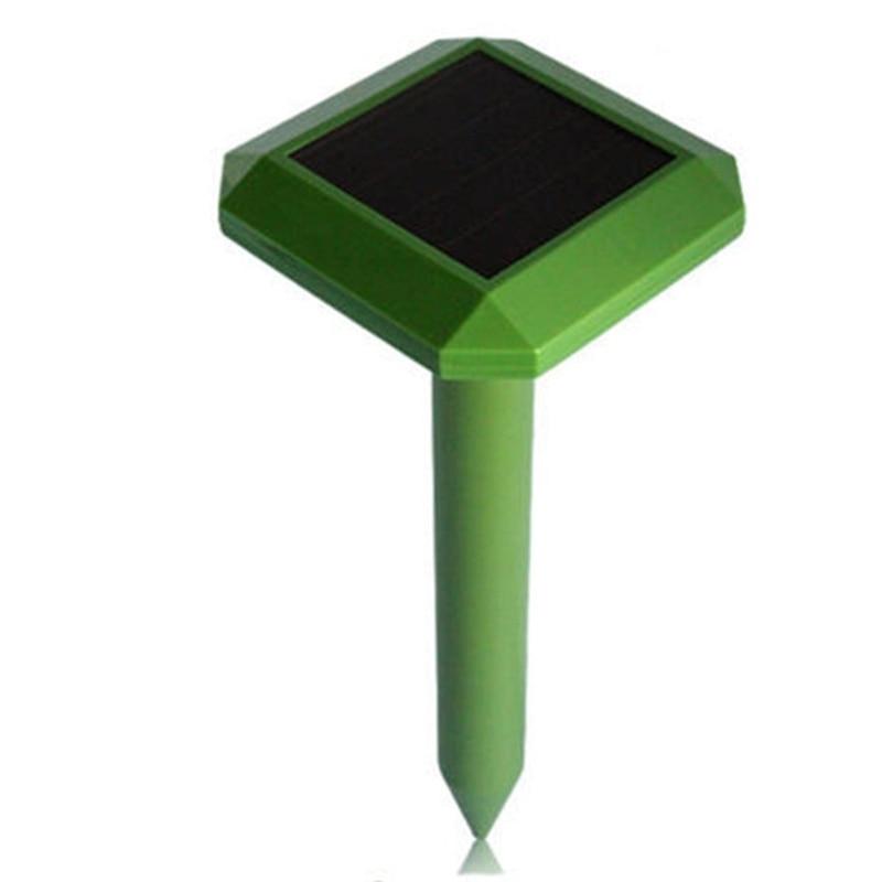 MOOL Solar Repellent Repeller Led Lights Plug In The Snake Garden Outdoor Animal Drive