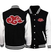 2020 primavera Naruto Uzumaki abrigo Casual suelto Fit béisbol uniforme chaqueta adulto Anime chaquetas Naruto hombres de talla grande S 5XL