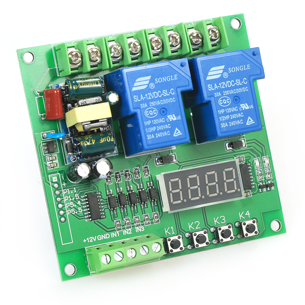 220V 2-Channel relay interface board Motor YYB-3 Driver Shield Board 30A LED Relay Module for Arduino Raspberry Pi