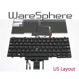 Image 3 - Clavier rétroéclairé pour ordinateur portable Dell Latitude 7450 7480 5488 7490 5480 5490 E7480 E7490 Noir AMÉRICAIN