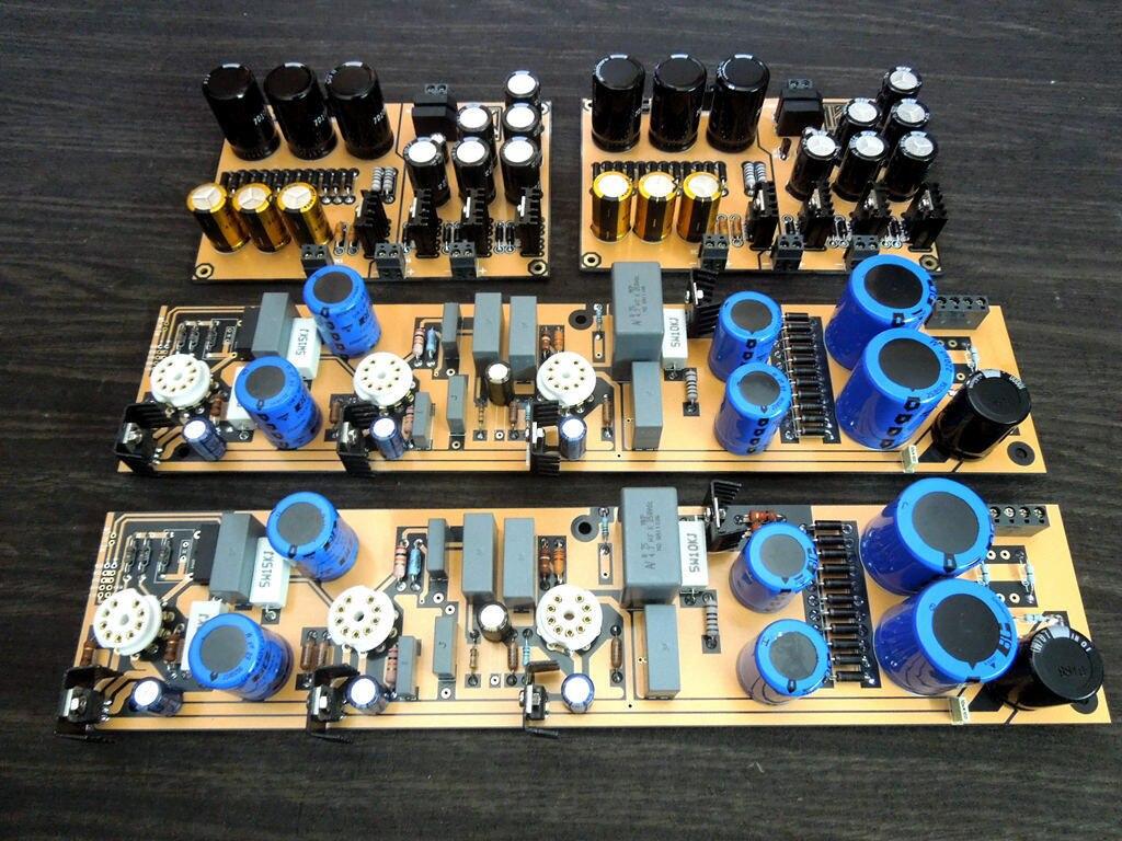Kit de préamplificateur Phono MC/MM pour Tube bricolage ERZONE bricolage sur Circuit D. Klimo allemagne L11-31