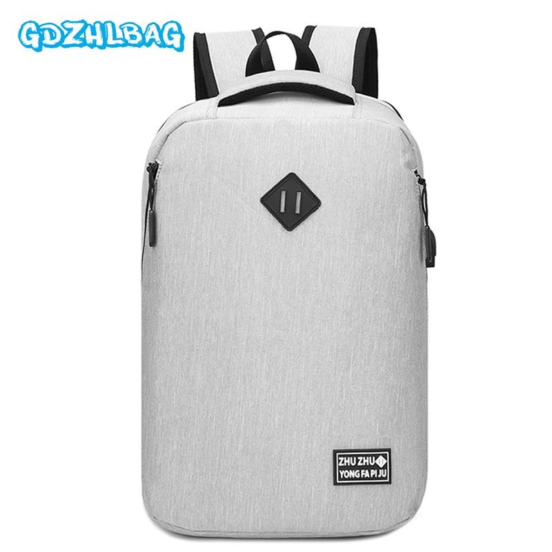 Men Backpack Anti theft multifunctional Oxford Casual Laptop Backpacks USB Charge Waterproof Travel Computer Bag Bagpack B272